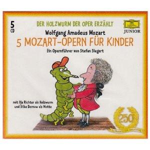 Mozart Siegert CD Cover